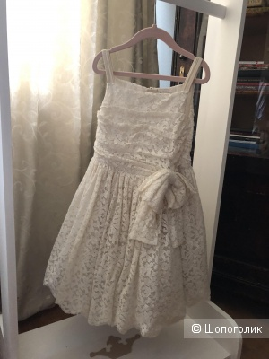 Роскошное платье dolce gabbana, 7-8 лет