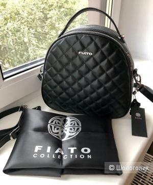 Кожаная сумка-рюкзак  Fiato