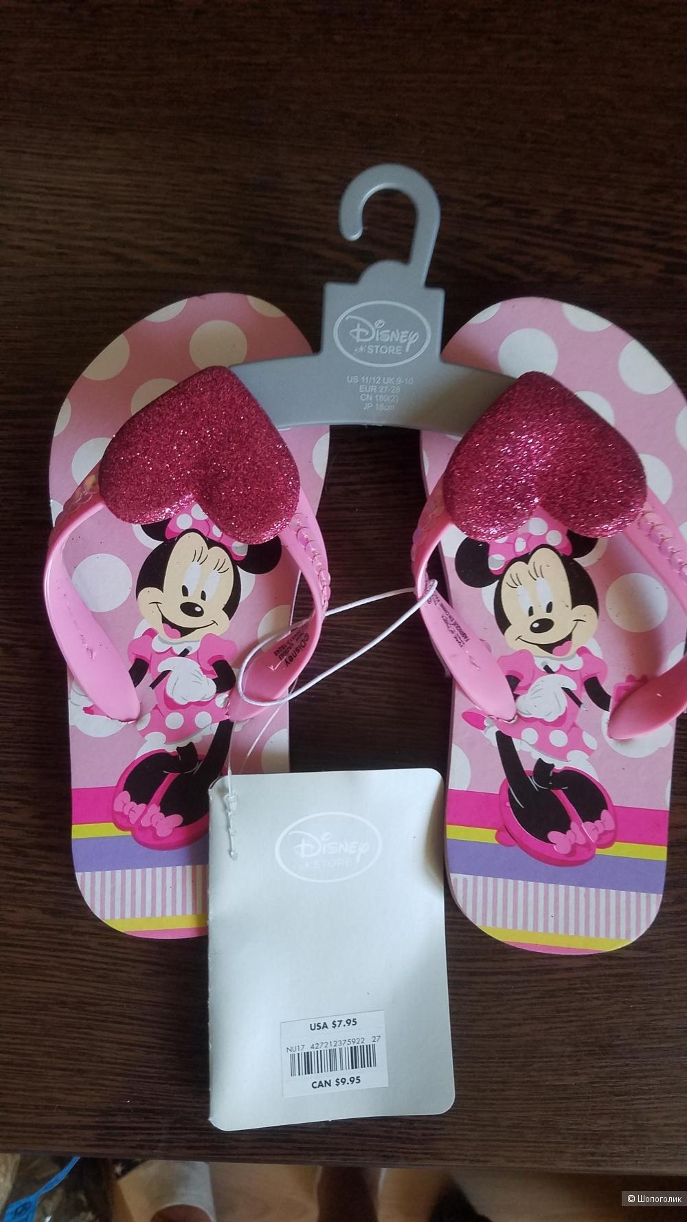 Шлепки босоножки Disney 27-28 размер НОВЫЕ