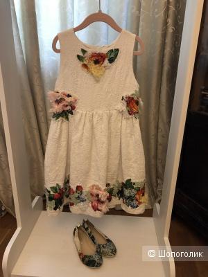 Роскошное платье Dolce Gabbana, 6-8 лет