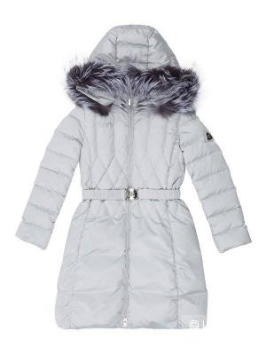 Пуховое пальто Borelli р.10, большемерит