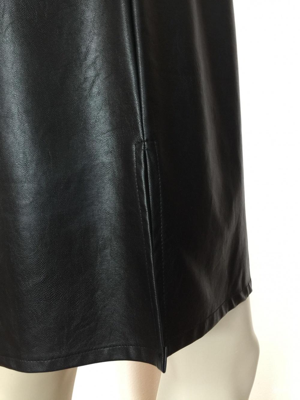 Кожаный сарафан M L XL