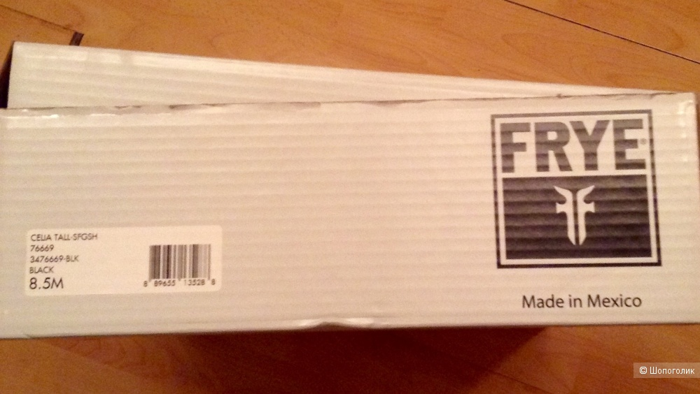 Зимние сапоги FRYE, размер 39