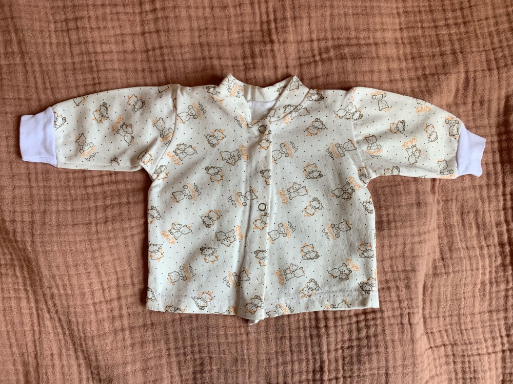 Комплект вещей для новорождённой девочки, размер 56-62 (7 вещей)