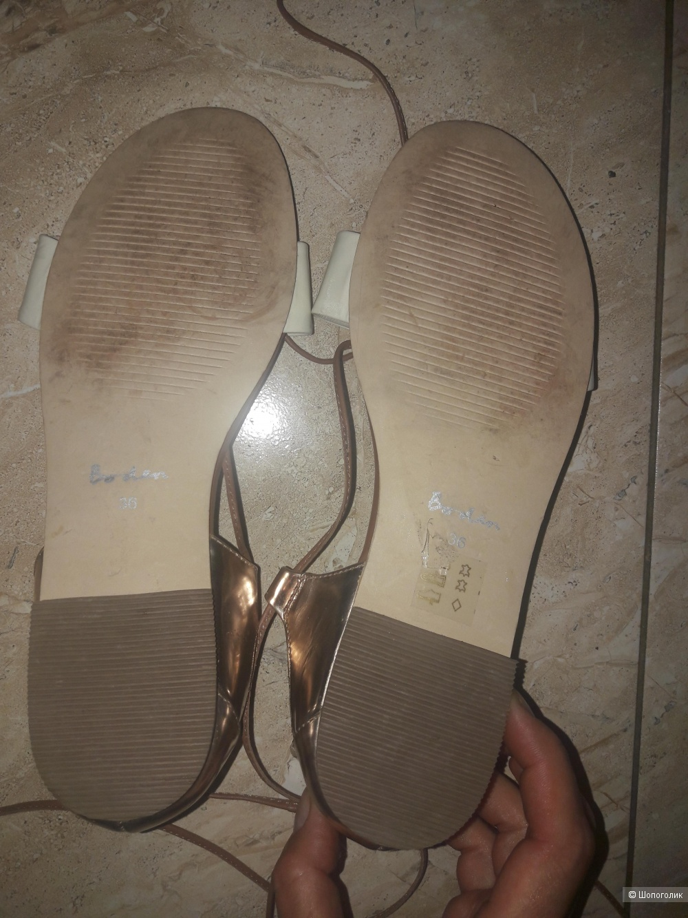 Кожаные сандалии Boden 36 размера