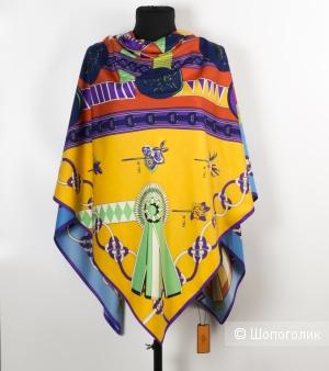 Шаль-платок женский - Hermes, 130*130 см.