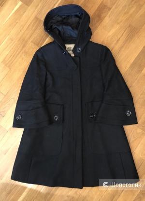 Черное пальто Burberry UK 6 US 4