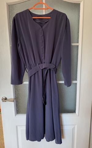 Винтажное платье, размер 48.