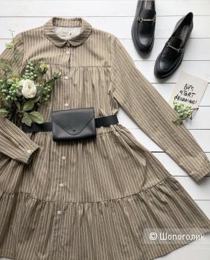 Платье-рубашка Черешня, one size (40-46)