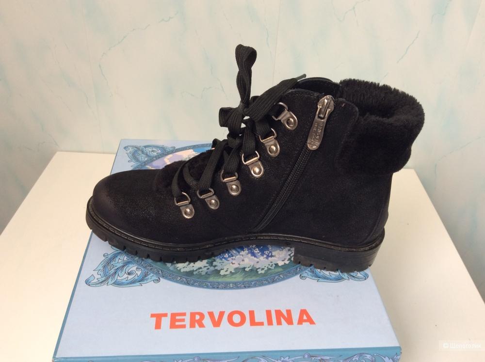Ботинки Tervolina демисезонные  36,5  размер