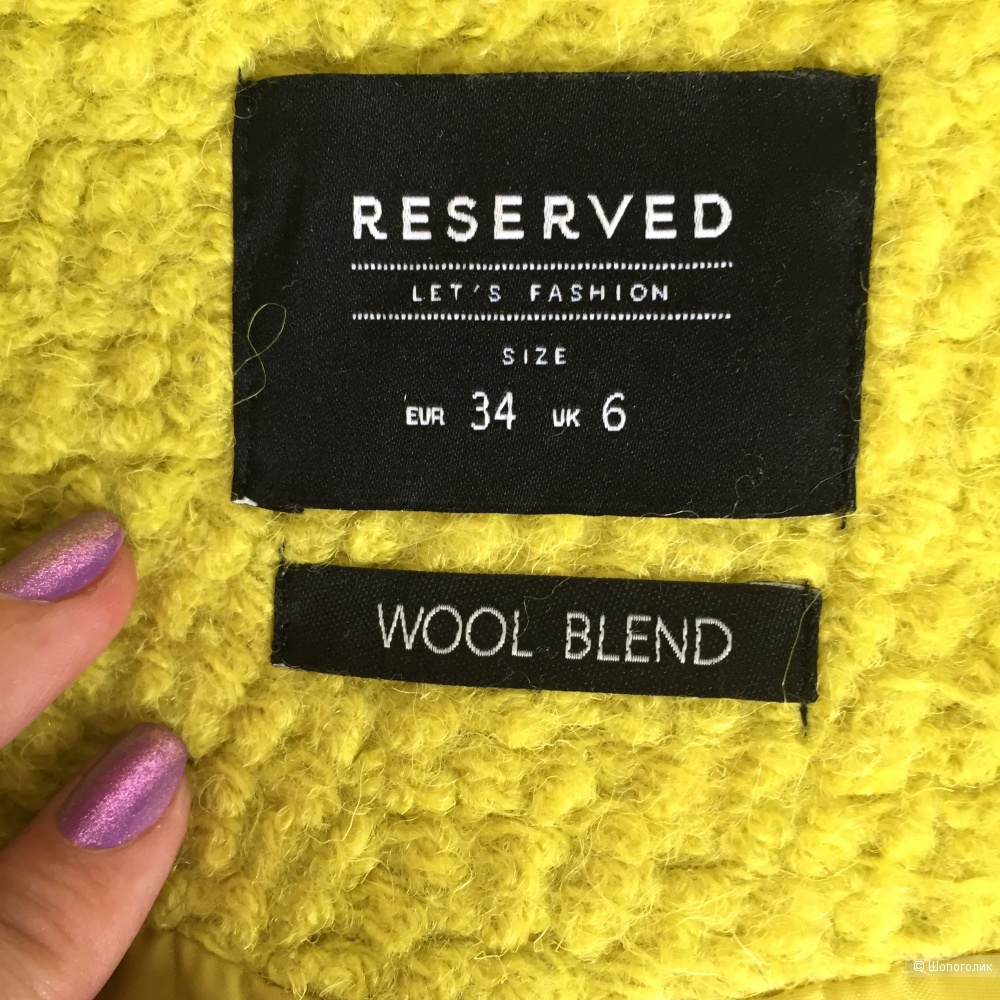 Пальто Reserved, размер 34 (S)