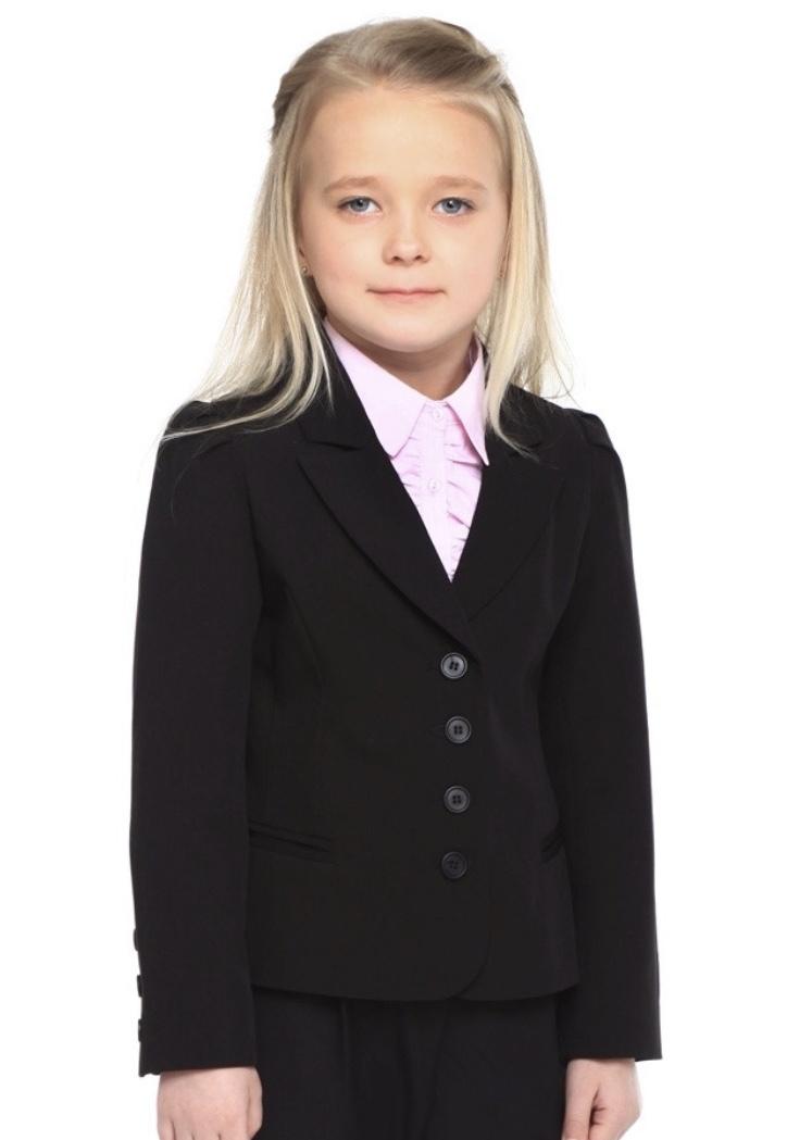Пиджак школьный для девочки, 146 размер