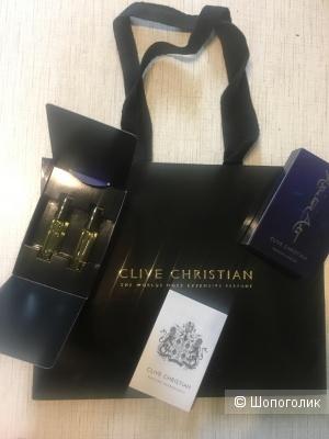 Clive Christian набор 2*1,5мл manic и soporific