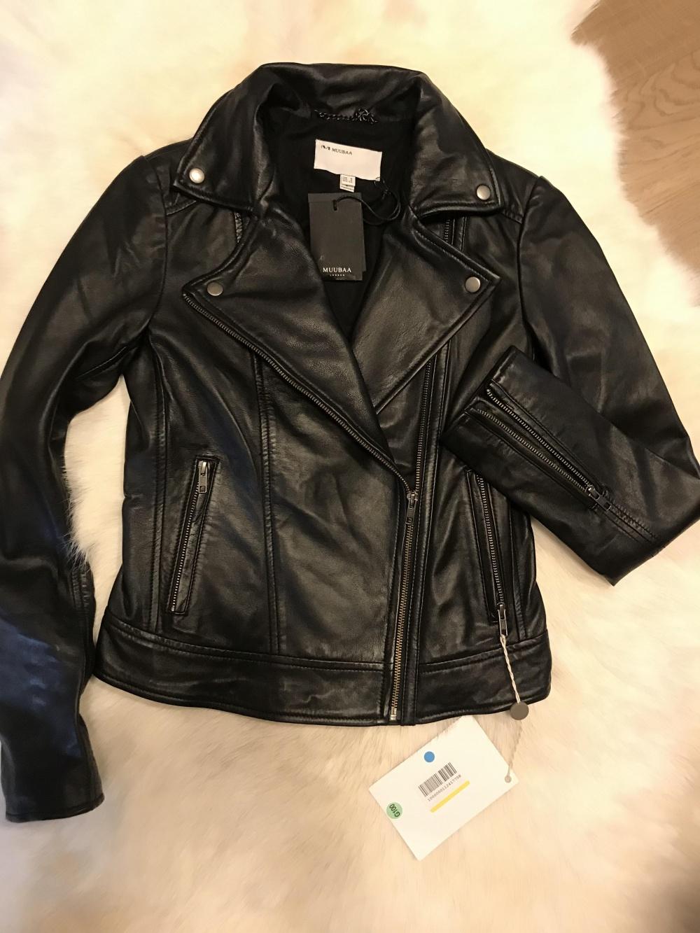 Кожаная куртка Muubaa 8UK