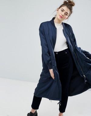 Парка удлиненная куртка Monki, S-M