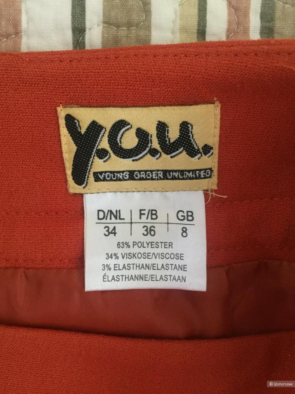 Мини-юбка ф.Y.O.U 34 разм