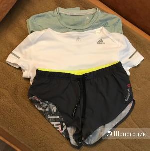 Сет для спорта (2 футболки и шорты) размер XS