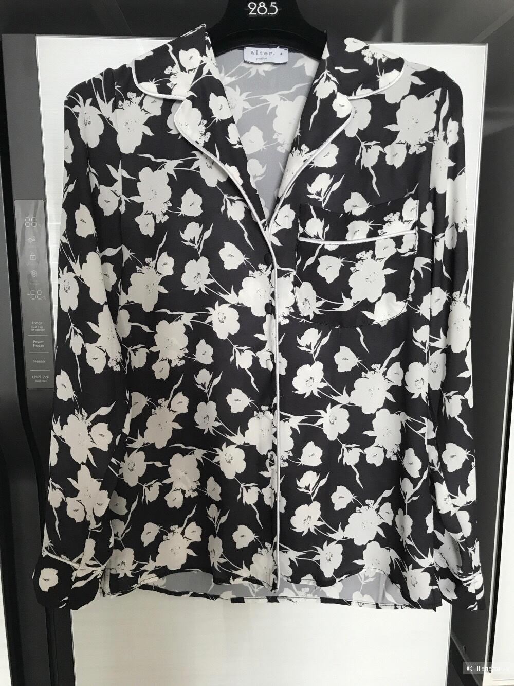 Комплект, блузка и свитшот asos, uk 8