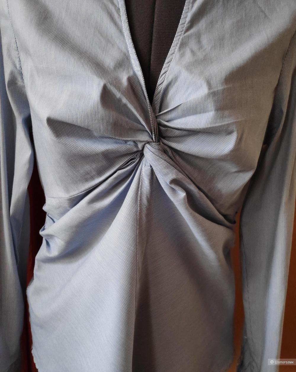 Блузка рубашка ZARA woman, маркировка L.