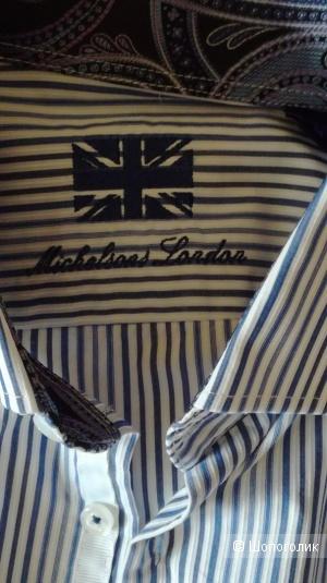 Michelsons London рубашка мужская М (L)
