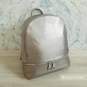 Рюкзак женский кожаный (бронза)
