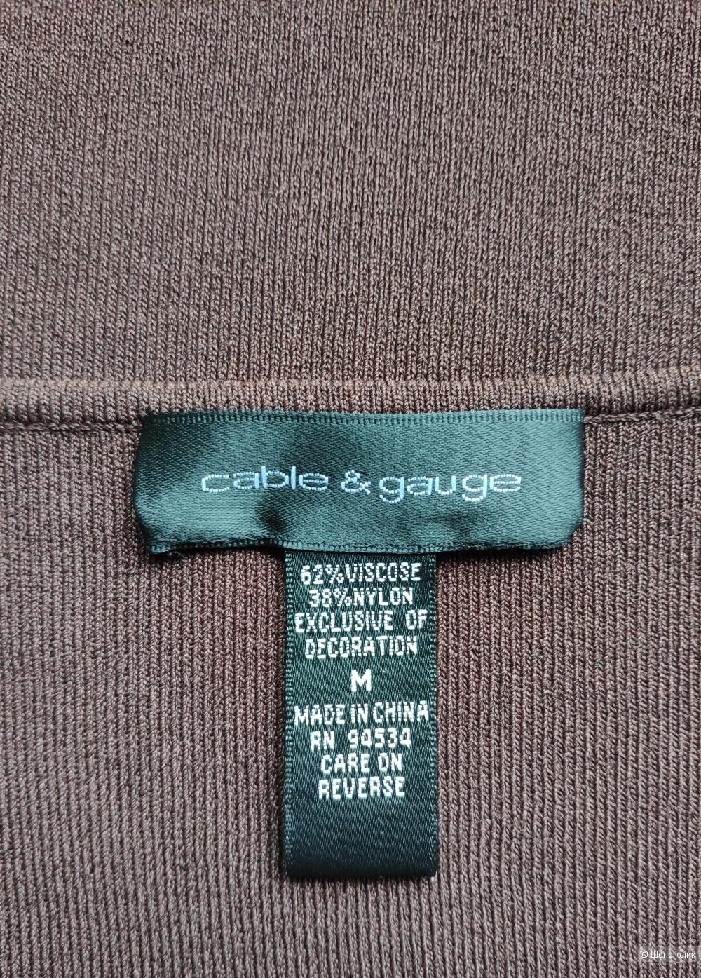 Топ Cable & Gauge , маркировка М/ 44-46-48 рус.