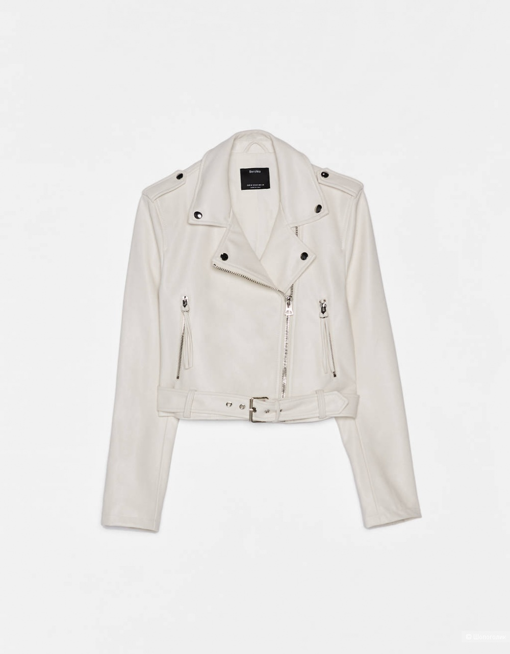 Куртка в байкерском стиле, BERSHKA