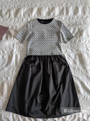 Комплект из юбки Zara размер xs и топа Topshop uk10
