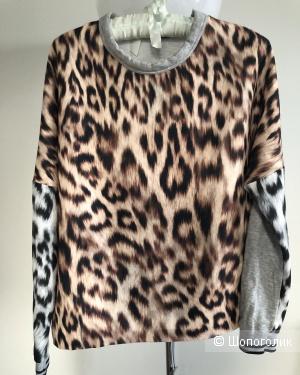 """Свитшот Zara """"W&B Collection» размер 26 ( XS-S)"""