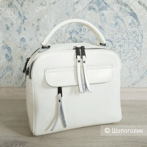 Сумка-рюкзак новый трансформер (жемчужный айвори)