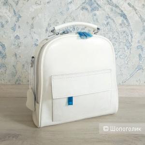 Сумка-рюкзак новый трансформер (жемчужный айвори) - N2
