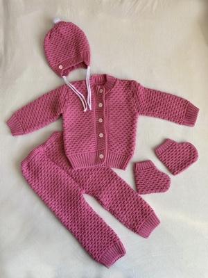Новый тёплый комплект для ребёнка, размер 6 месяцев / 68 см
