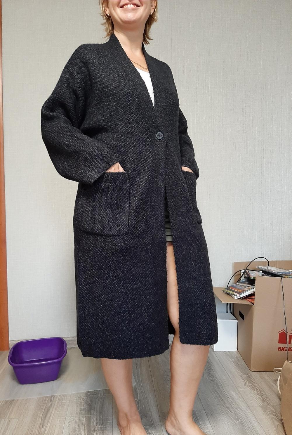 Кардиган-пальто UNICLO, L (48-50-52 размер)