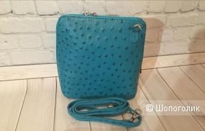 Кожаная сумка divasbag