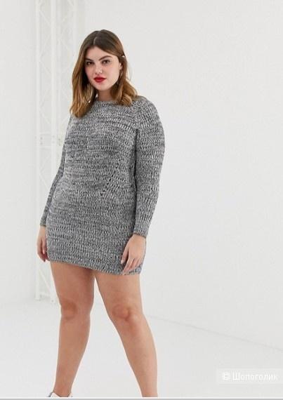 Платье-джемпер Brave Soul Plus madison, 48-50 RU