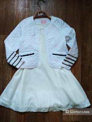 Сет платье и жакет joules размер 6 лет