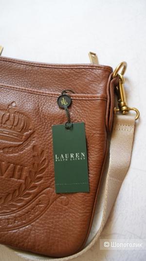 Кожаная сумка Ralph Lauren