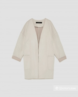 Zara пальто-накидка-жакет, размер S-M