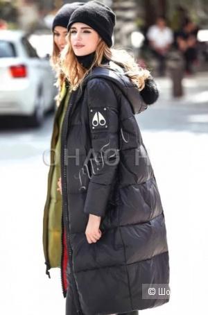 Пуховик пальто YDBN, размер L, маломерит на 42-44