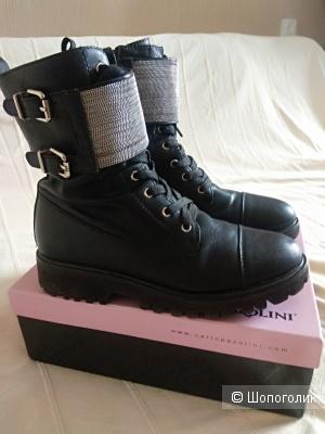 Кожаные ботинки Massimo Renne, 38 размер