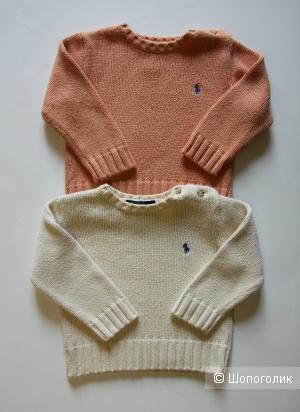 Комплект детских вещей: 2 свитера Polo by Ralph Lauren на 1,5-2 года