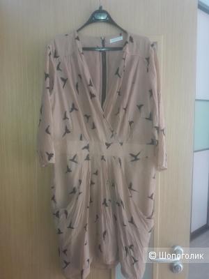 Шелковое платье 48 размера Whistles