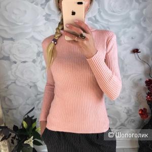 Водолазка (свитер с горлом) лапша 40-46 размер