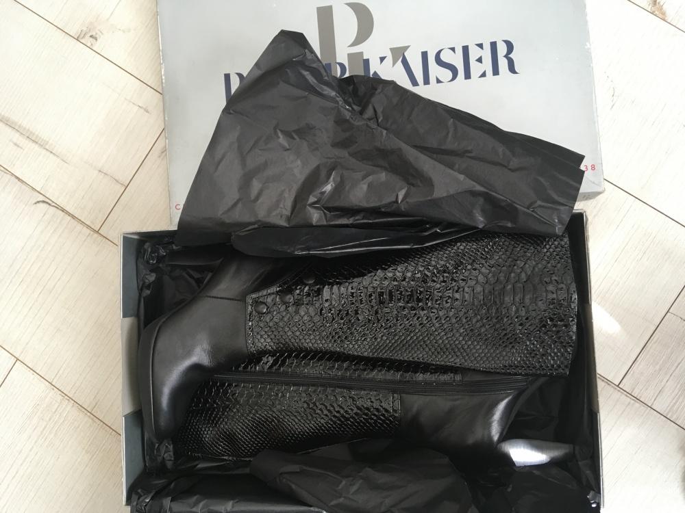 Кожаные сапоги Peter Kaiser, европейский размер 4 (наш 36-36,5)