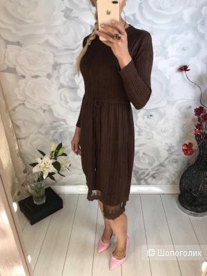 Вязаное платье 42-48 размер