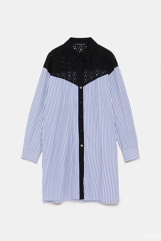 Рубашка- платье ZARA, размер росс. 50-52
