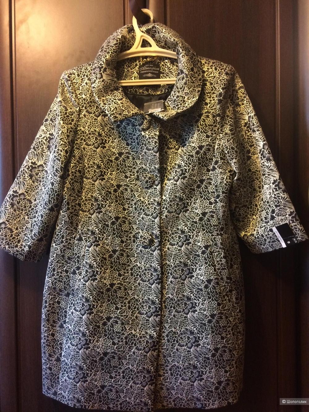 Летнее парчовое пальто, сюртук Atmosphere 50 - 52 размер