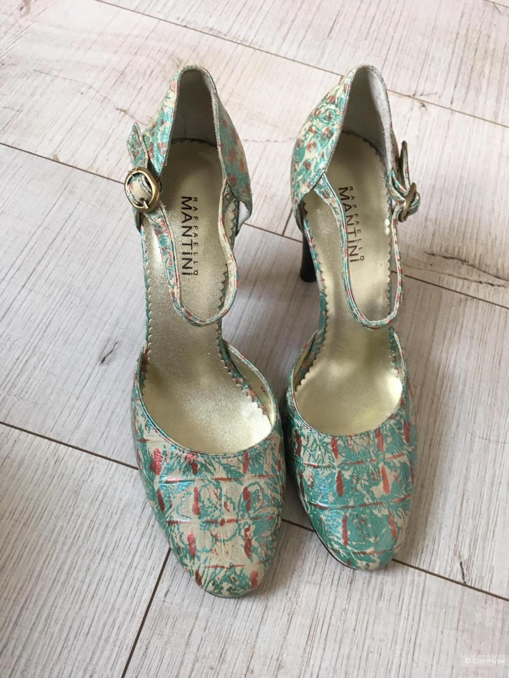 Кожаные туфли, 37 размер