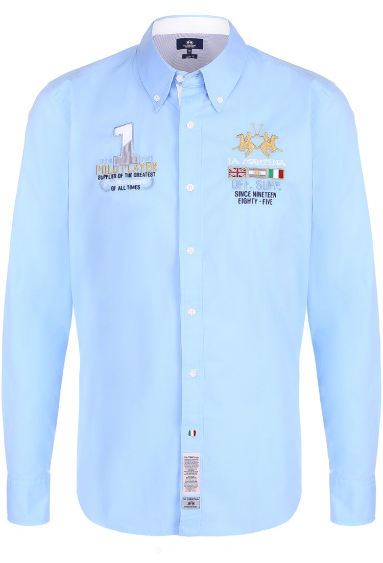 La Martina рубашка мужская р.L