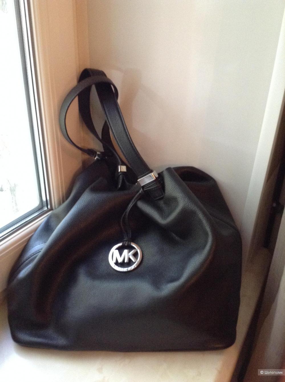 Кожаная сумка Michael Michael Kors